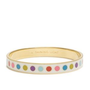 Kate Spade Shining Light multicolor dot bangle